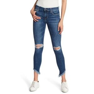 Joe's Jeans The Icon Fray Cuff Skinny Ankle Jeans